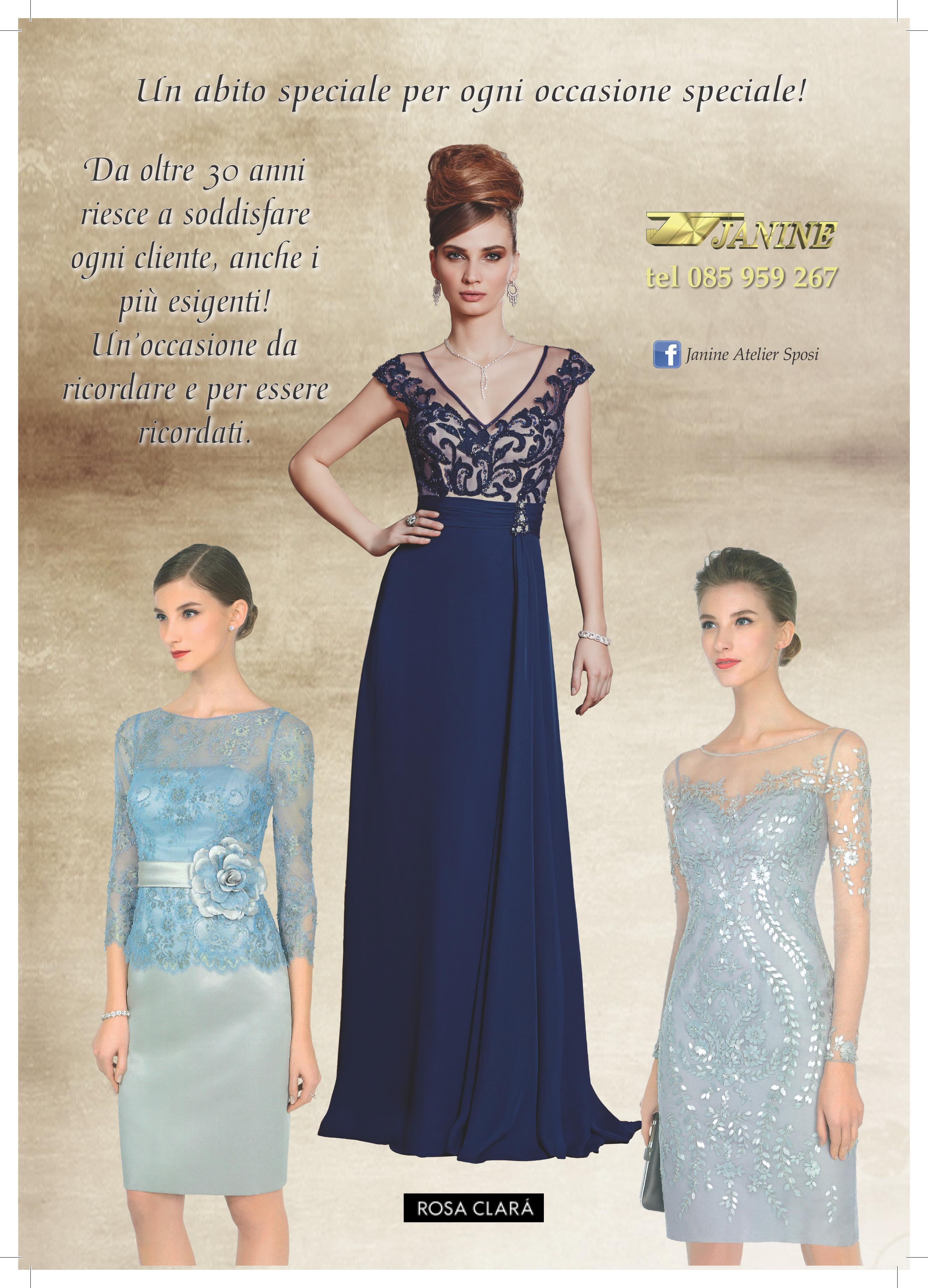 Abiti Da Cerimonia Janine.Couture Club By Rosa Clara Atelier Janine